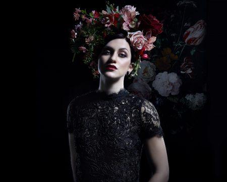 BLACK FLOWER-3